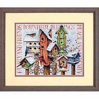 Набор для вышивки крестом Dimensions 70-08863 «Зимние домики»
