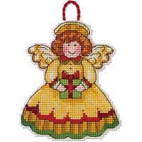 Набор для вышивки крестом Dimensions 70-08893 «Ангел. Украшение»