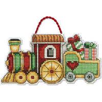 Набор для вышивки крестом Dimensions 70-08897 «Поезд. Украшение»