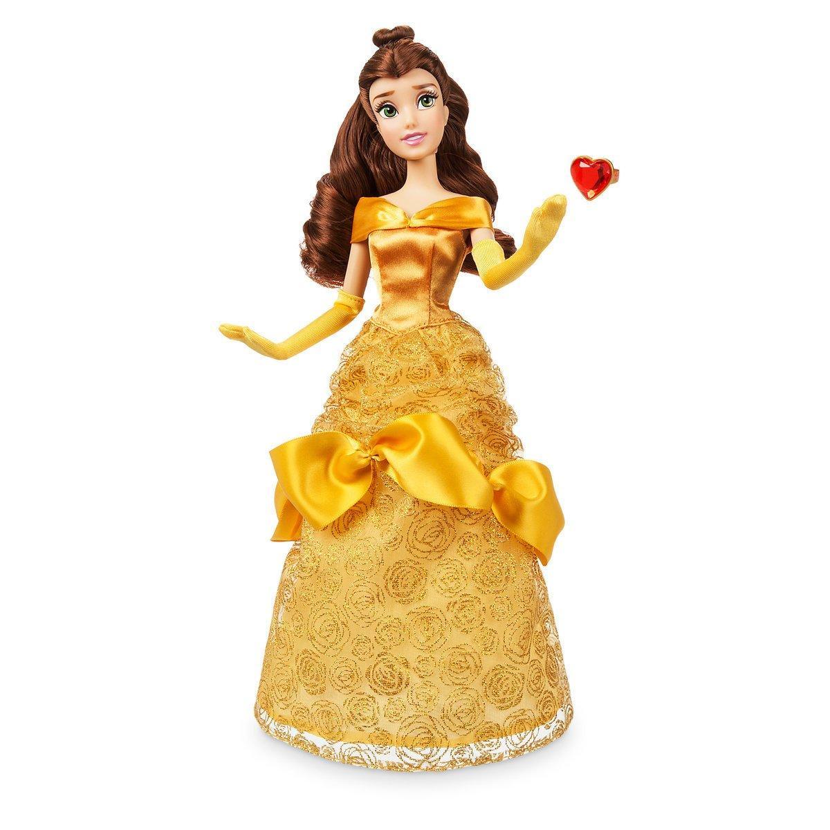 Кукла Принцесса Белль с кольцом Дисней