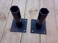 Полуоси до мотоблока, глухие, шестигранник на 32, фото 1