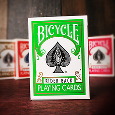 Карты игральные | Bicycle Green Playing Cards by USPCC