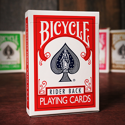 Карты игральные | Bicycle Playing Cards Poker (Red)