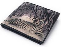 Кошелек Ekzotic leather из натуральной кожи морского ската   (stw 103), фото 1