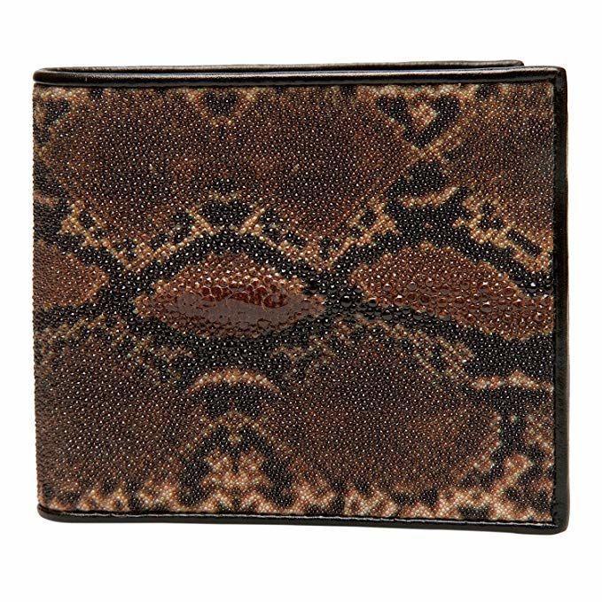 Кошелек Ekzotic leather из натуральной кожи морского ската   (stw 107)