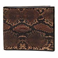 Кошелек Ekzotic leather из натуральной кожи морского ската   (stw 107), фото 1