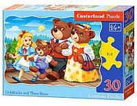 """Кастор пазлы 030 """"Три медведя"""" 32*23 /40/(B-03716)"""