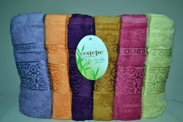 Наборы полотенец (Бамбук)