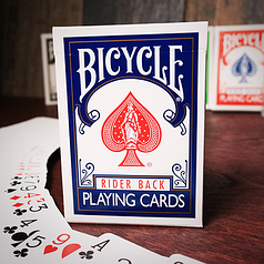 Карты игральные | Bicycle Playing Cards Poker (Blue)