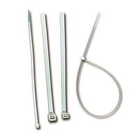 Стяжка кабельная 160*2.6 полиамид 6.6, ELEMATIC