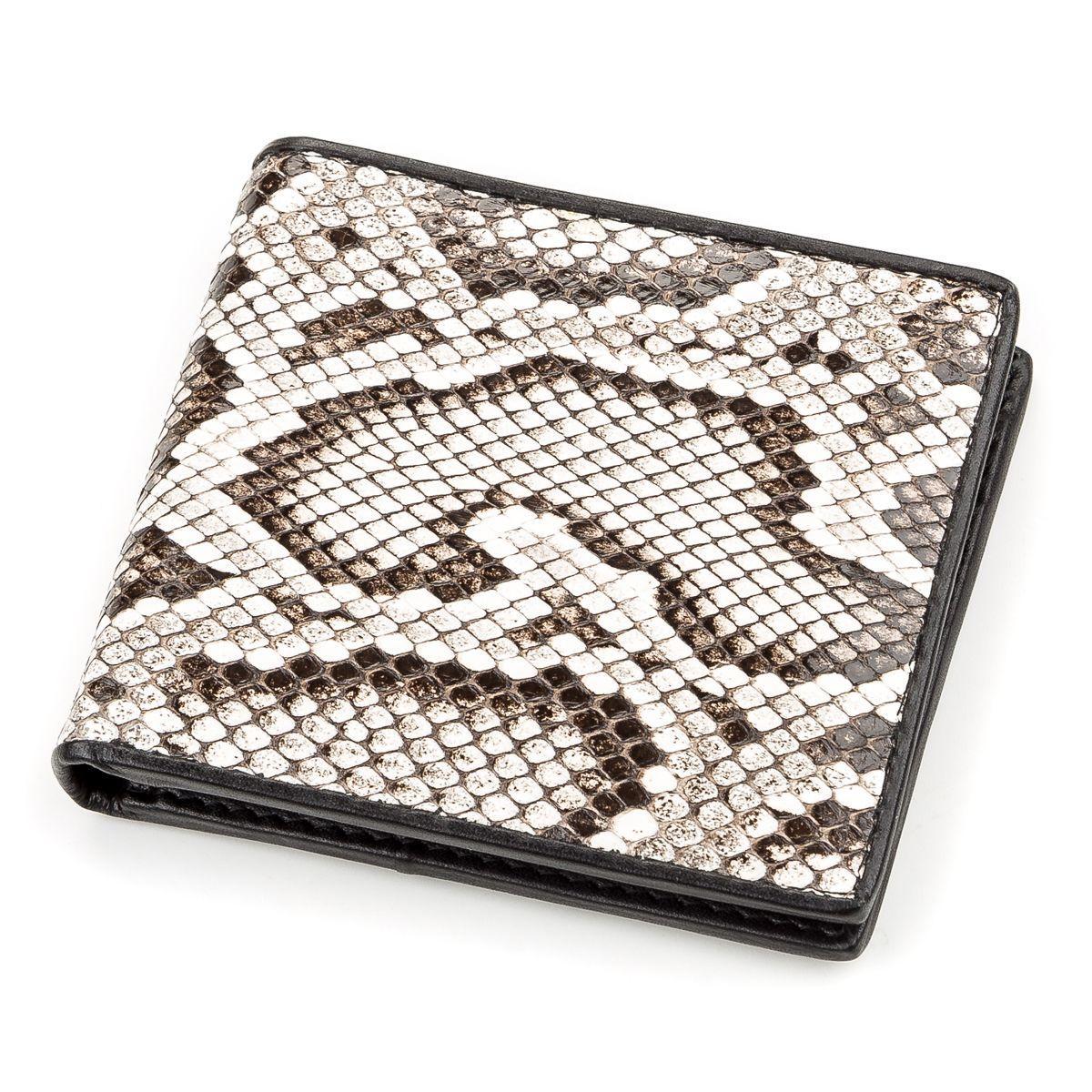 Портмоне Ekzotic Leather из натуральной кожи питона Разноцветное   (snw 59)