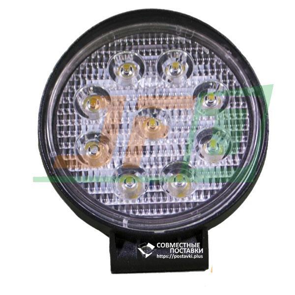 27W / 30 (9 X 3W / узкий луч, круглый корпус) 1890 LM LED фара рабочая 1074 (GY-009Z03A)