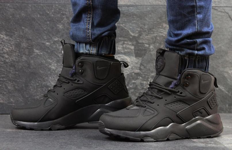 b192c410 Мужские зимние кроссовки Nike Huarache черные: продажа, цена в ...