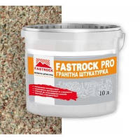 Штукатурка гранитная силиконовая, цветная, Фастрок ПРО  (Fastrock Granit PRO Silikon)14 кг, фото 1