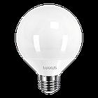 LED лампа Maxus G95 15W яркий свет 220V E27 (1-LED-904), фото 2