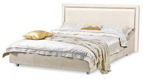 Ліжко з м'якою спинкою з підйомним механізмом Орландо (160 х 200) КІМ