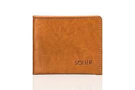 Шкіряний гаманець Camel SW05B