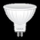 LED лампа Maxus MR16 3W яркий свет GU5.3 AP (1-LED-510), фото 2