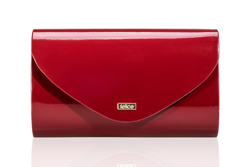 Клатч женский бордовый Felice F15
