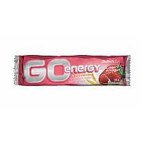 Батончик BioTech - Go Energy (40 грамм) клубника-йогурт