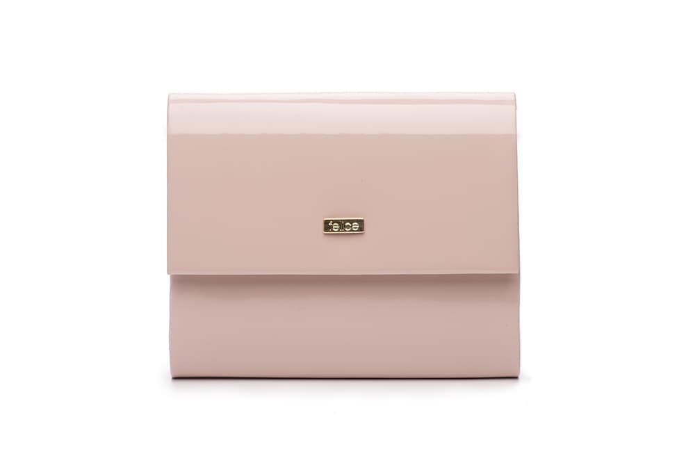 Клатч женский розовая пудра Felice F14
