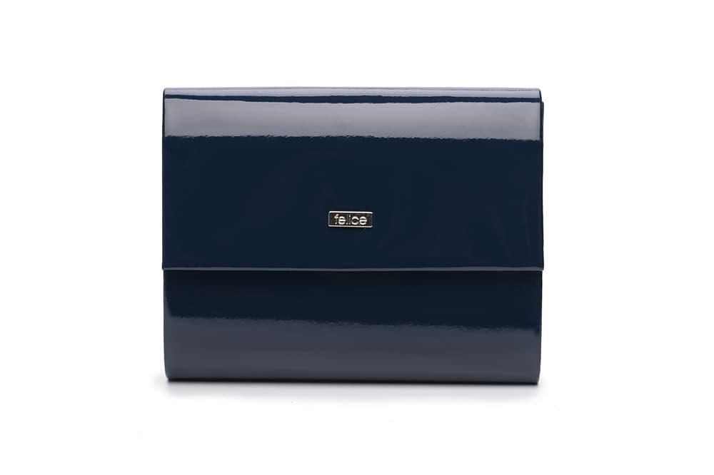 Клатч жіночий синій Felice F14