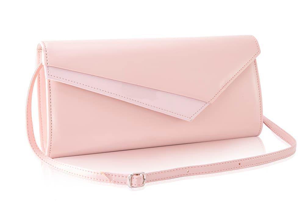 Клатч женский розовая пудра Felice f17