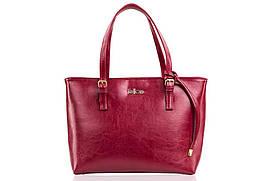 Жіноча шкіряна сумка для Бордова Felice LunaRed