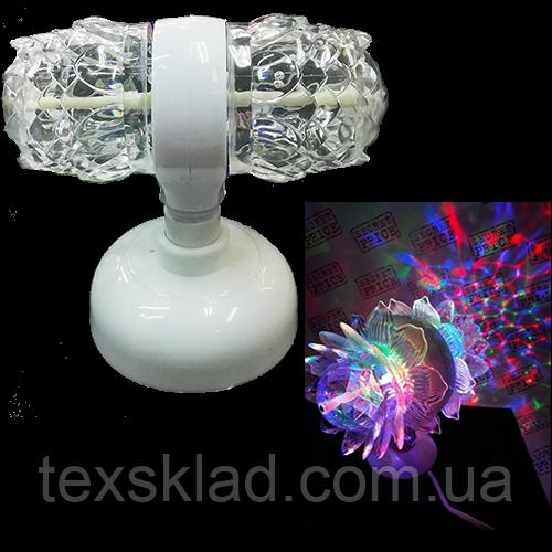 Світлодіодна диско установка LED Magic Ball Light 2 (Відео огляд)