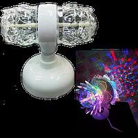 Світлодіодна диско установка LED Magic Ball Light 2 (Відео огляд), фото 1
