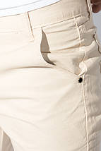 Брюки мужские укороченные с подворотами 895K002 (Песочный), фото 3
