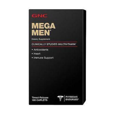 Витамины для мужчин GNC MEGA MEN 180 таб, фото 2