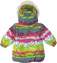 Куртка+полукомбинезон зима термо Garden Baby для девочки малиновый  размеры 92, фото 2