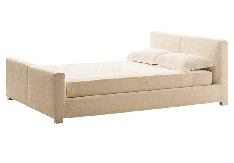 Ліжко з м'якою спинкою Венті (160 х 200) КІМ