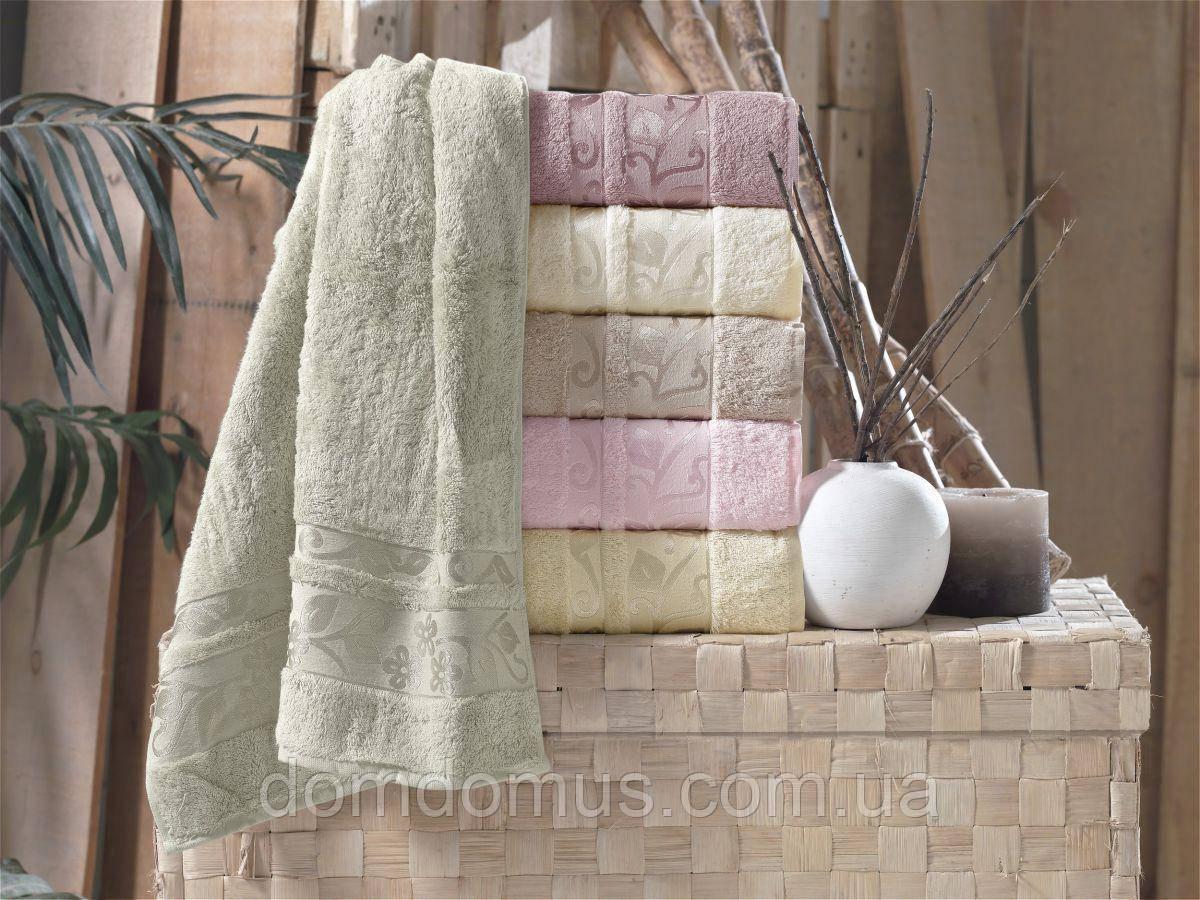 "Махровое полотенце ""Class Bamboo"" 70*140 (100% бамбук) Puppila, Турция"