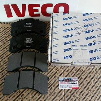 Колодки тормозные EuroCargo 120/130/150E, фото 2
