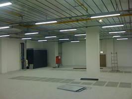 Освещение производственных помещений. LED освещение. LED светильник. Светодиодное освещение.