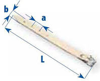 Ремень с пряжкой, длина 350мм