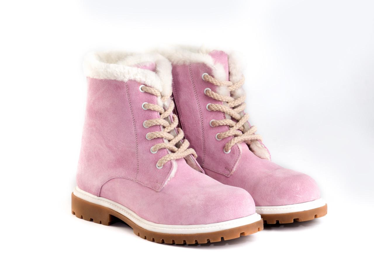 Ботинки Etor 6484-2298-0330 36 розовые