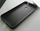 Кожаный блестящий чехол накладка для Xiaomi Redmi 5 plus 5+ Кожа 100%, фото 4