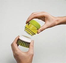 Щетка для мытья с диспенсером Soap Brush!Акция, фото 2