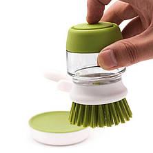 Щетка для мытья с диспенсером Soap Brush!Акция, фото 3