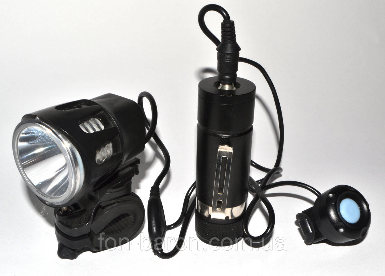 Светодиодный велофонарь V -AK/1 - T6, фото 1