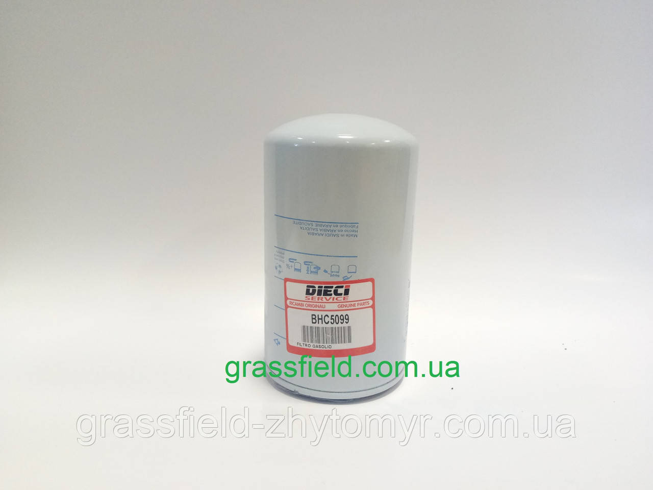 Паливний фільтр BHC5099 до телескопічного навантажувача DIECI