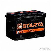 Аккумулятор Starta 75 А.З.Г. с круглыми клеммами | L, EN680 (Азия)