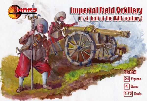 Императорская полевая артиллерия, XVII век. 1/72 MARS 72093