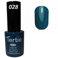 Гель-лак Tertio №28 голубой 10 мл