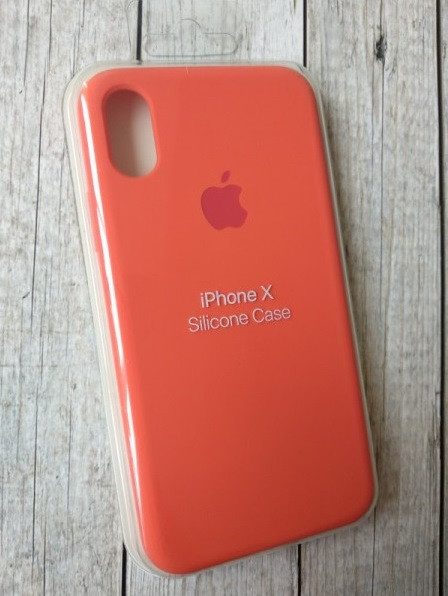 "Накладка iPhone Х ""Original Case"" New Apricot"