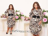 Платье Бутон Лео  (размеры 48-54)