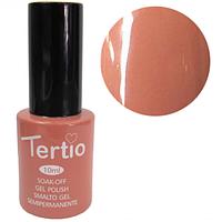 Гель-лак Tertio №33 коричнево-бежевый 10 мл